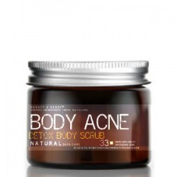 Charcoal Body Acne Scrub