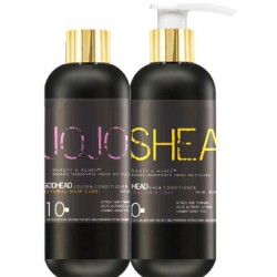 Shea and JoJoba Deep Conditioner Set